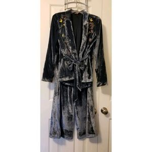 Free People Perfect Illusion Wide Leg Pant Suit